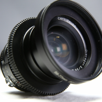 Rent Zeiss Planar ZE 35mm t/2 with F to EF or E Mount