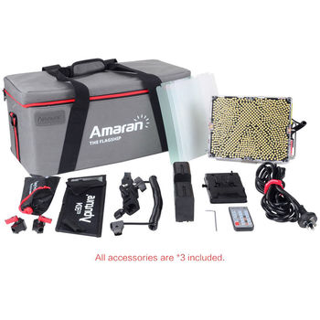 Rent 3 Aputure Amaran Tri-8 Light Kit