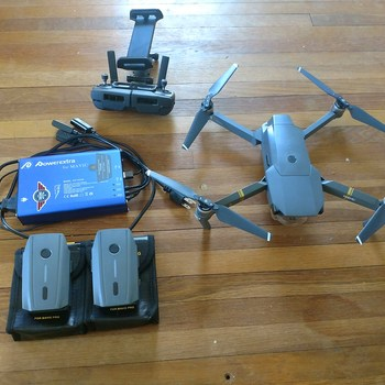 Rent Mavic Pro w/ 3 batteries and charge 3 batteries at once