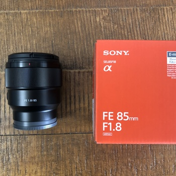 Rent Sony FE 85mm Lens -  f/1.8mm