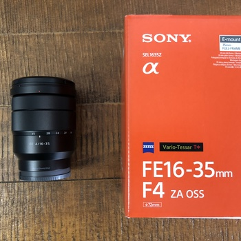 Rent Sony 16-35mm f/4 Zeiss Zoom Lens