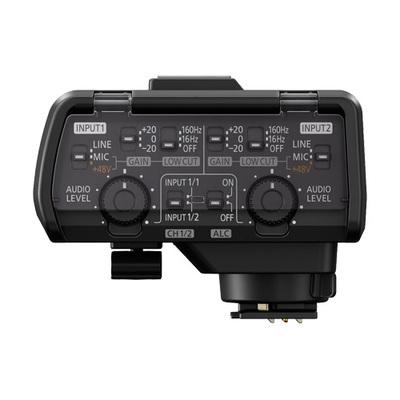Panasonic dmw xlr1 controls