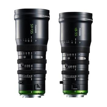 Rent Fujinon 18-55mm & 50-135mm T2.9 E Mount Lens Kit