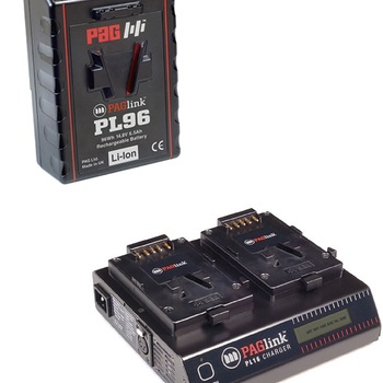 Rent PAGlink PL96e 14.8V V-Mount Li-Ion Battery and Charger
