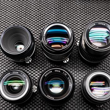 Rent Vintage Nikon Lens set of 6 Lenses