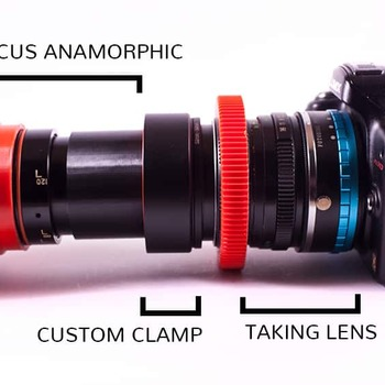 Rent  85mm Isco 2x Anamorphic Lens w/ Wide Angle adapter, and SINGLE FOCUS
