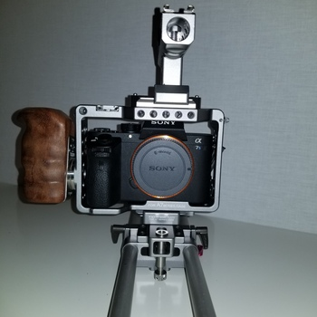 Rent Sony A7S II Camera with Metabones Adapter and Tilta Cage
