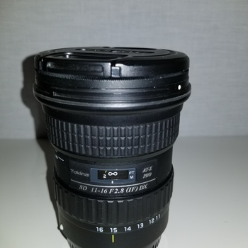 Rent Tokina AT-X 116 PRO DX-II 11-16mm f/2.8 Lens for Canon EF