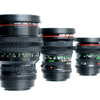 Rent Canon L FD Superspeed Set