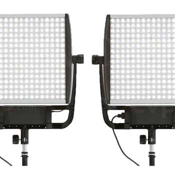 Rent 2x Litepanels Astras 6X Bi-Color panels w/ hard case & stands
