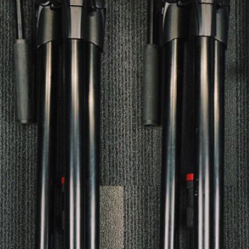 Rent 2 Manfrotto MVH500AH Tripods (matching pair)
