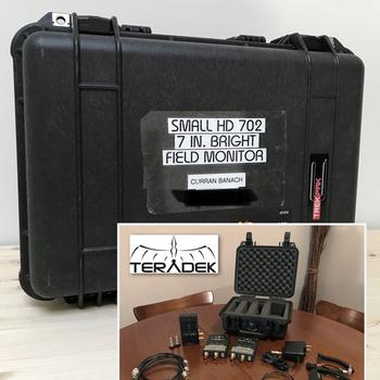 Rent Teradek Wireless System & SmallHD 702 Field Monitor Combo