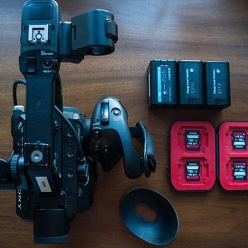 Rent Sony PXW-FS5 with Metabones Speed Booster Ultra
