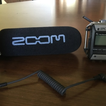 Rent ZOOM SHOTGUN MIC F1-SP