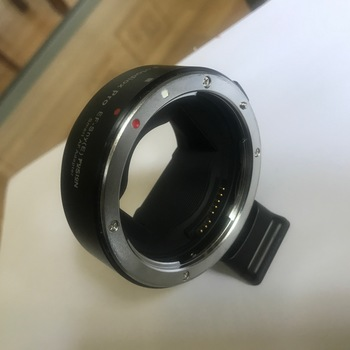 Rent adaptor between canon lenses and sony A 6300 camera's