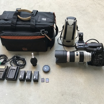 Rent Canon C100 MKII with 70-200mm f/2.8L IS II USM Lens
