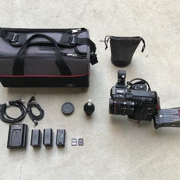 Rent Canon C100 w/ Dual Pixel AF with 24-105mm f/4L IS USM Lens