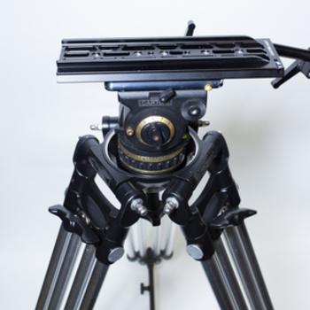 Rent Ronford Baker Standard Sticks with Cartoni Gamma fluid Head