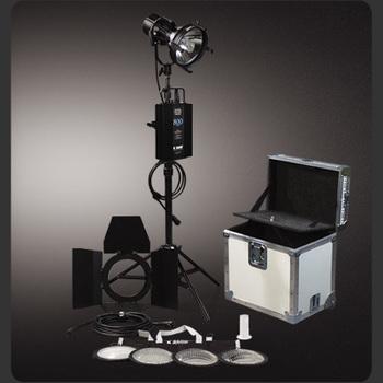 Rent K 5600 Joker Bug 800 HMI with lenses, soft box and grid