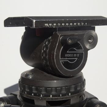 Rent Sachtler Video 25 II w/ Ronford Standards - mediums, hihat