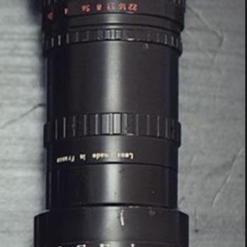 Rent  Angenieux 17.5 - 70mm f/2.2 Zoom Lens Arri Standard Mount w/ MFT adapter and Pelican Case BMPCC!