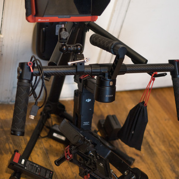Rent Ronin-M with 4K monitor and accessories.