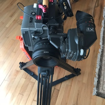 Rent Sony F35 CineAlta Package with 24-35-50-85 lenses - 4 V-mount Batts, Pix E5 External Recorder - SDI cables - with C30WR Viewfinder - MatteBox and IRND's