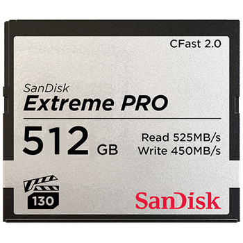 Rent SanDisk 512GB Extreme PRO CFast 2.0 (1/2)