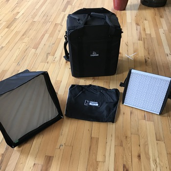 Rent 2 Litepanels Astra 6x Bi-Color  (with Snapbags!)