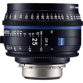 Rent Zeiss CP.3 25mm T2.1 Compact Prime Lens