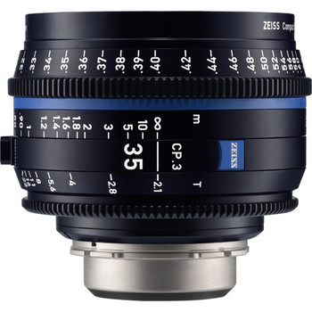 Rent Zeiss 35mm T2.1 Compact Prime Lens