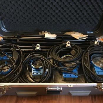 Rent ARRI Tungsten Light Kit - 2 650W, 1 300W and 2 150W