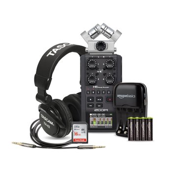 Rent Zoom H6 Six-Track Portable Recorder + Rode Boom + EXTRAS