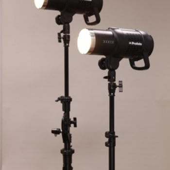 Rent Profoto - 2 X B1 500 flash kit - includes TTL Air Remote and light modifiers at no charge