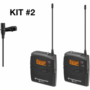 Rent Sennheiser G3 Wireless Lav Microphone Kit (#2 of 2 available)