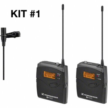 Rent Sennheiser G3 Wireless Lav Microphone Kit (#1 of 2 available)