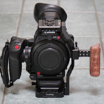 Rent Canon C100 Mark II w/ Dual Pixel AF, cage + more included