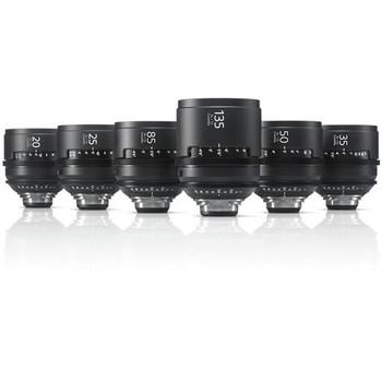 Rent Sony Cinealta MK2 PL prime lens set