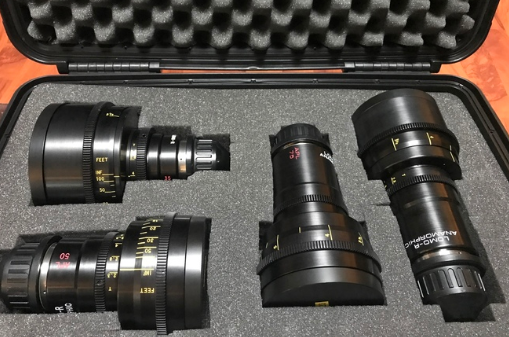 Rent A Lomo Round Front Anamorphic Set: 35, 50, 75, 100 In