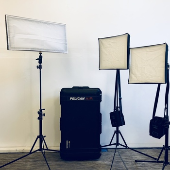 Rent 3 Light Kit - Westcott Flex Daylight LED