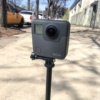 Rent GoPro Fusion w/ 2x batteries, 2x 64GB microSD cards