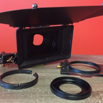 Rent Bright Tangerine Misfit 15mm Swing Away Mattebox w/ 3 Stages