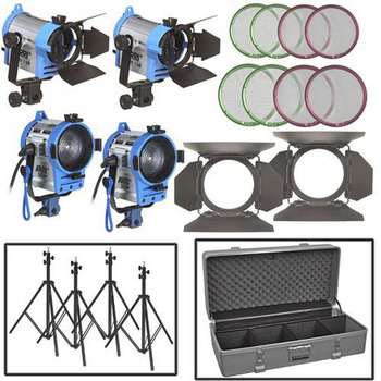 Rent ARRI Tungsten 4 light kit 150/150/300/300
