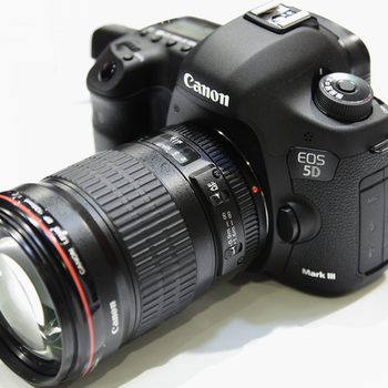 Rent Canon 5d Mark III PACKAGE - choice of 2x L series Zooms
