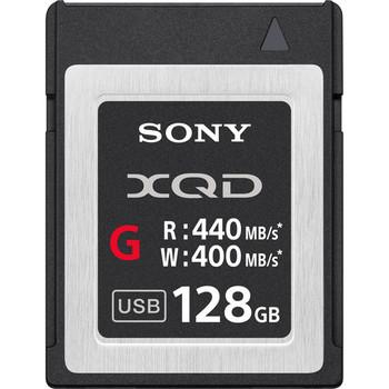 Rent 128GB XQD Sony card
