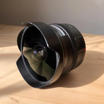 Rent Canon EF 15mm f2.8 Fisheye