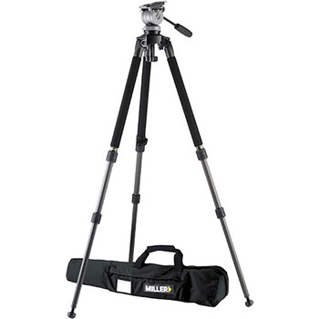 Rent Miller Fluid Head Tripod (DS-10) for DSLR / Cinema Cameras