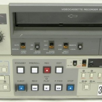 "Rent Sony BVU-950 3/4"" NTSC VTR"