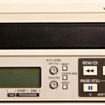Rent Panasonic AG-5260 PAL VHS VCR