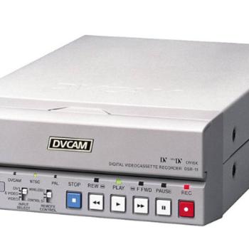 Rent Sony DSR-11 Compact DVCAM / DV VTR